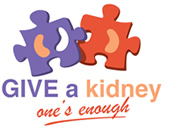 Give a kidney logo